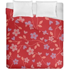 Floral pattern Duvet Cover Double Side (California King Size)