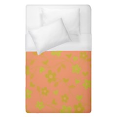 Floral Pattern Duvet Cover (single Size) by Valentinaart