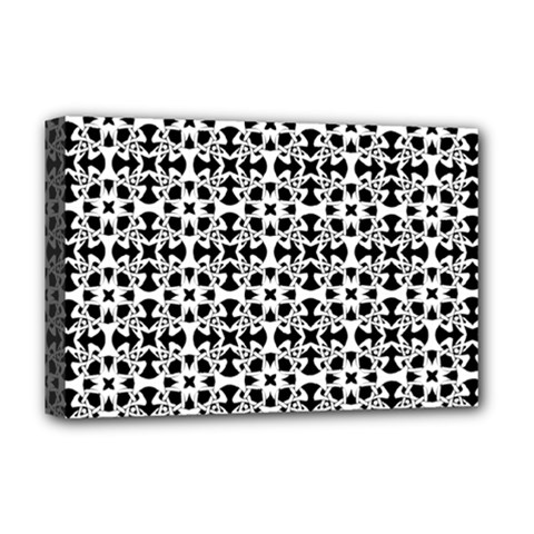 Pattern Deluxe Canvas 18  X 12   by Valentinaart