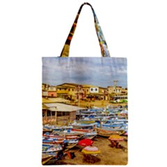 Engabao Beach At Guayas District Ecuador Classic Tote Bag by dflcprints