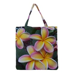 Premier Mix Flower Grocery Tote Bag by alohaA