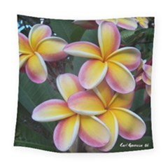 Premier Mix Flower Square Tapestry (large) by alohaA