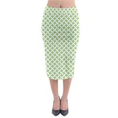 Pattern Midi Pencil Skirt by Valentinaart
