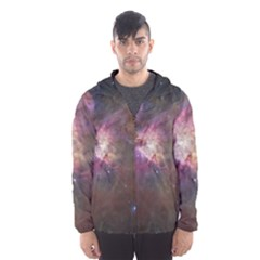 Orion Nebula Hooded Wind Breaker (men) by SpaceShop