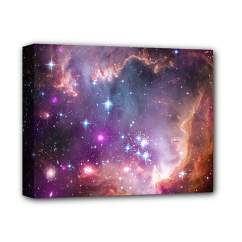 Small Magellanic Cloud Deluxe Canvas 14  X 11  by SpaceShop