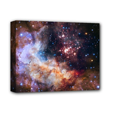 Celestial Fireworks Deluxe Canvas 14  X 11  by SpaceShop