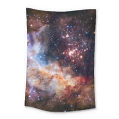Celestial Fireworks Small Tapestry by SpaceShop