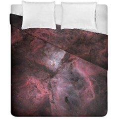 Carina Peach 4553 Duvet Cover Double Side (california King Size) by SpaceShop