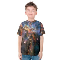 Pillar And Jets Kids  Cotton Tee by SpaceShop