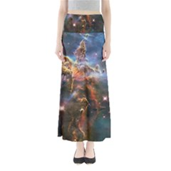 Pillar And Jets Maxi Skirts by SpaceShop