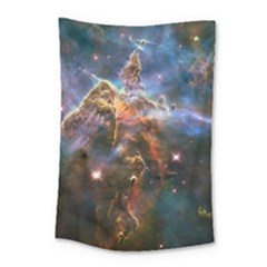 Pillar And Jets Small Tapestry by SpaceShop