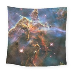 Pillar And Jets Square Tapestry (large) by SpaceShop