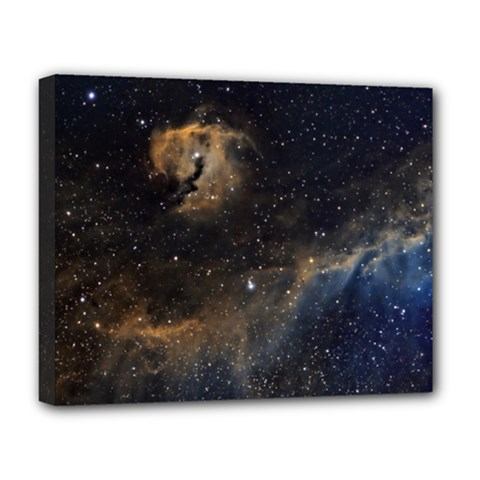 Seagull Nebula Deluxe Canvas 20  X 16   by SpaceShop