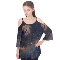 Seagull Nebula Flutter Tees by SpaceShop