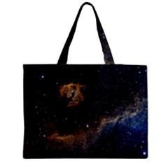 Seagull Nebula Medium Zipper Tote Bag