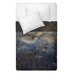 Propeller Nebula Duvet Cover Double Side (single Size) by SpaceShop