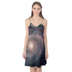 Whirlpool Galaxy And Companion Camis Nightgown by SpaceShop