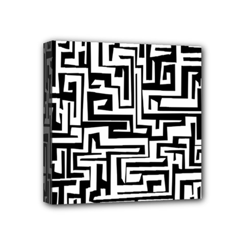 Pattern Mini Canvas 4  X 4  by Valentinaart