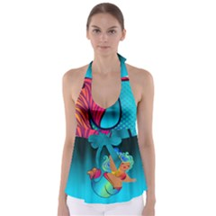 Mermaids Heaven Babydoll Tankini Top by tonitails