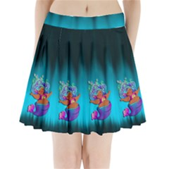 Mermaids Heaven Pleated Mini Skirt by tonitails