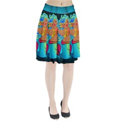 Mermaids Heaven Pleated Skirt by tonitails