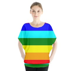 Rainbow Blouse by Valentinaart