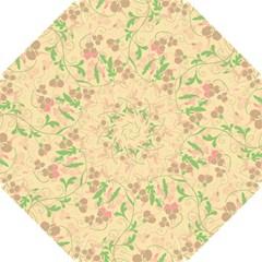 Floral Pattern Hook Handle Umbrellas (small) by Valentinaart