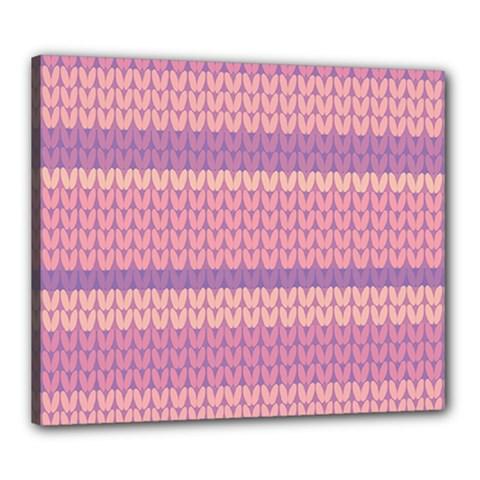 Pattern Canvas 24  X 20  by Valentinaart