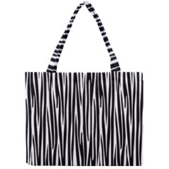 Zebra Pattern Mini Tote Bag by Valentinaart