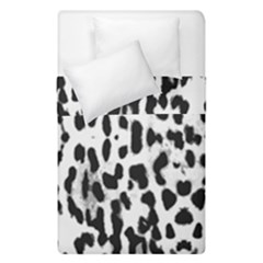 Animal Print Duvet Cover Double Side (single Size) by Valentinaart
