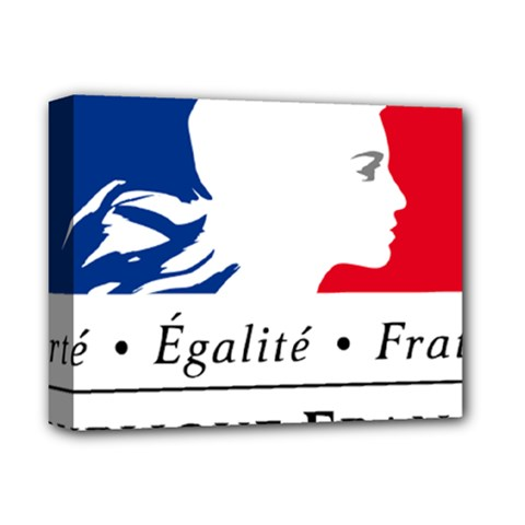 Symbol Of The French Government Deluxe Canvas 14  X 11  by abbeyz71