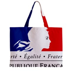 Symbol Of The French Government Zipper Mini Tote Bag by abbeyz71