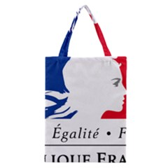 Symbol Of The French Government Classic Tote Bag by abbeyz71