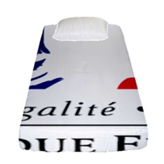 Symbol Of The French Government Fitted Sheet (single Size) by abbeyz71