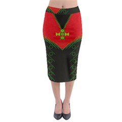 Dressed For Success Midi Pencil Skirt by pepitasart
