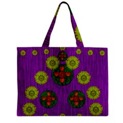 Buddha Blessings Fantasy Mini Tote Bag by pepitasart