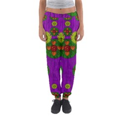 Buddha Blessings Fantasy Women s Jogger Sweatpants by pepitasart