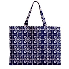 Leaves Horizontal Grey Urban Zipper Mini Tote Bag by Simbadda