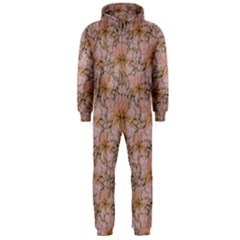 Nature Collage Print Hooded Jumpsuit (men) by dflcprintsclothing