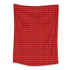 Red And Black Medium Tapestry by PhotoNOLA