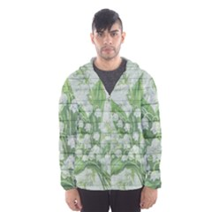On Wood May Lily Of The Valley Hooded Wind Breaker (men) by Simbadda