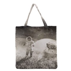 Astronaut Space Travel Space Grocery Tote Bag by Simbadda