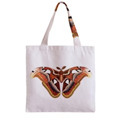 Butterfly Animal Insect Isolated Zipper Grocery Tote Bag by Simbadda