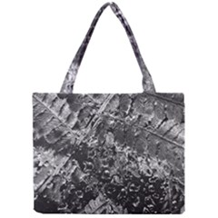Fern Raindrops Spiderweb Cobweb Mini Tote Bag by Simbadda