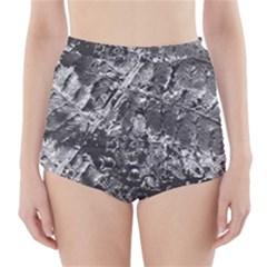 Fern Raindrops Spiderweb Cobweb High Waisted Bikini Bottoms by Simbadda