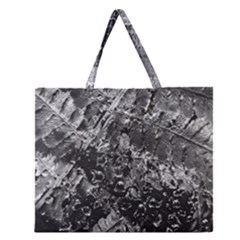 Fern Raindrops Spiderweb Cobweb Zipper Large Tote Bag by Simbadda