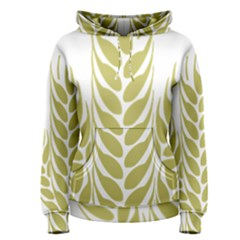 Tree Wheat Women s Pullover Hoodie