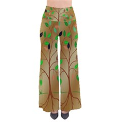Tree Root Leaves Contour Outlines Pants by Simbadda