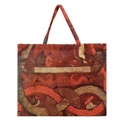 Works From The Local Zipper Large Tote Bag by Simbadda