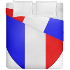 Shield On The French Senate Entrance Duvet Cover Double Side (california King Size) by abbeyz71